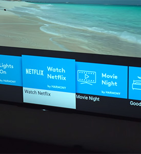 Sony Android TV Logitech