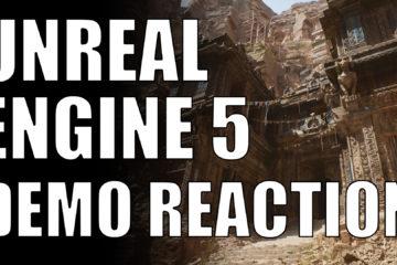 unreal engine 5 demo reaction
