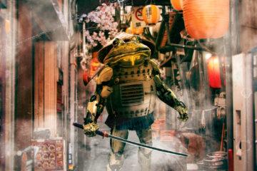 Bullfrog Samurai